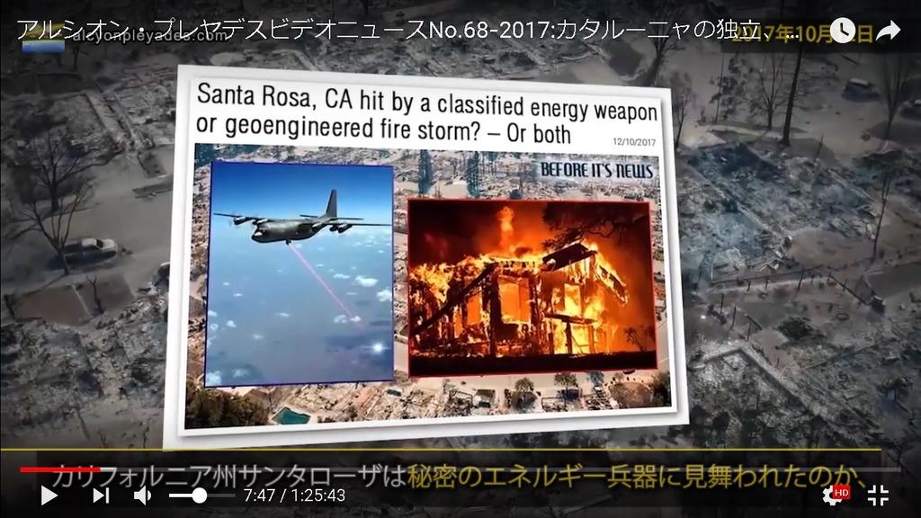 エネルギー兵器カリフォルニア