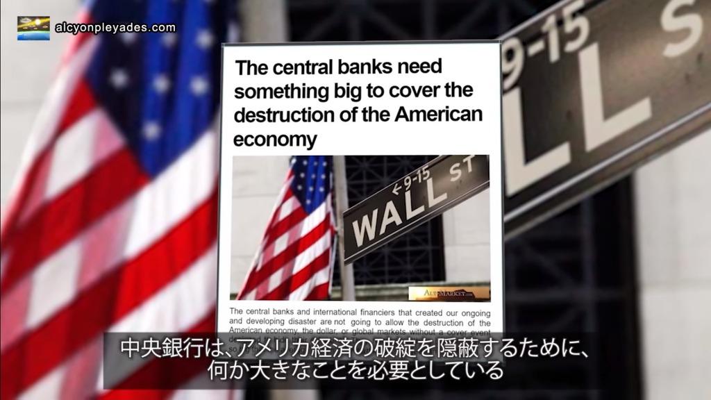 中央銀行 FRB 隠蔽