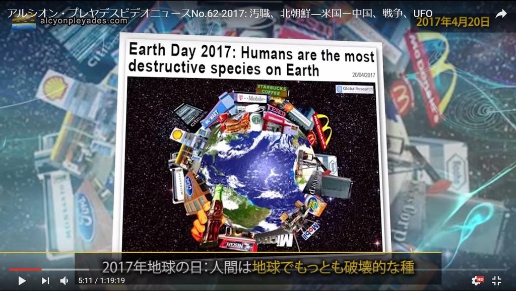 地球人間が破壊種APN62