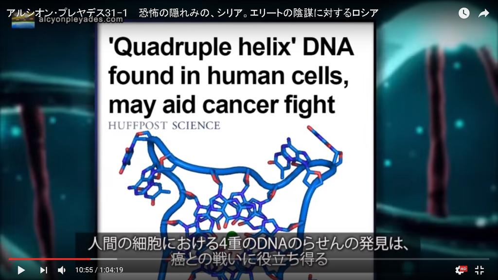 癌 DNA4 アルシオン・プレヤデス