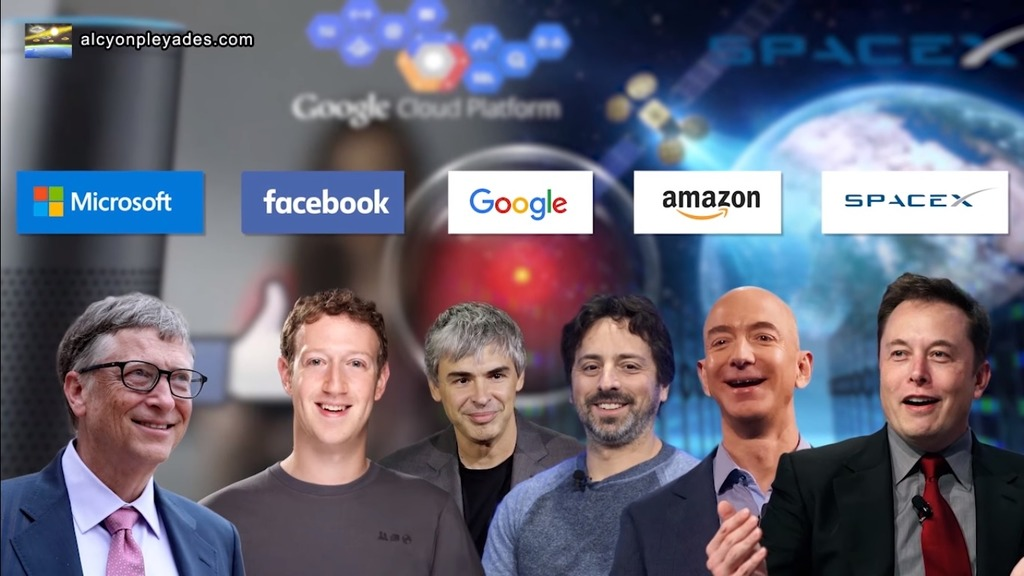 Microsoft FB google amazon spacex AP71