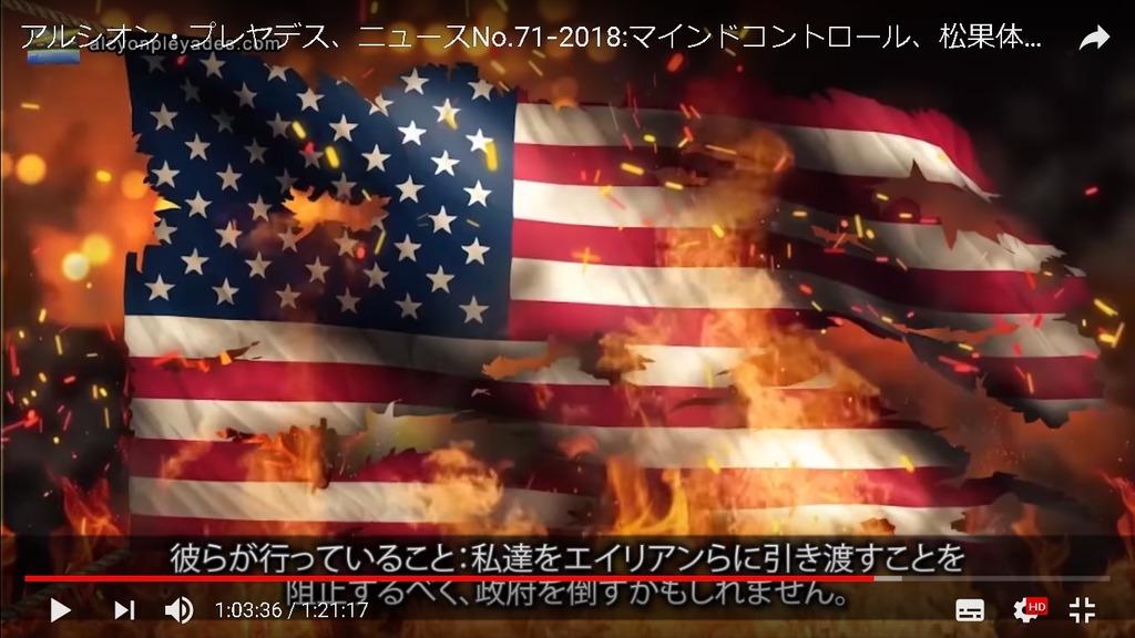 革命アメリカ政府を倒すAPN71