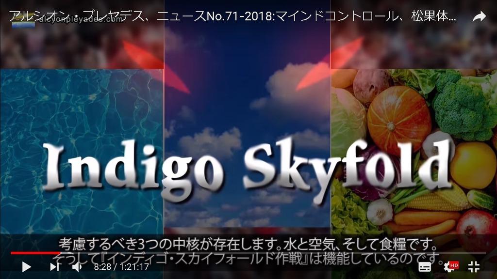 IndigoSkyfold水空気食料