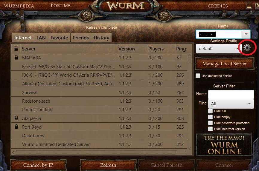 wurm : Wurm Unlimited 個人的Wiki