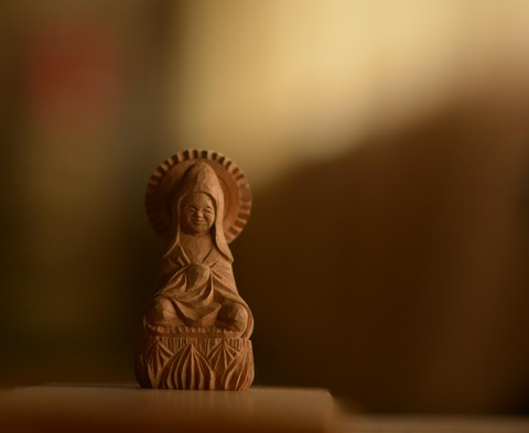 彫刻 -木喰-