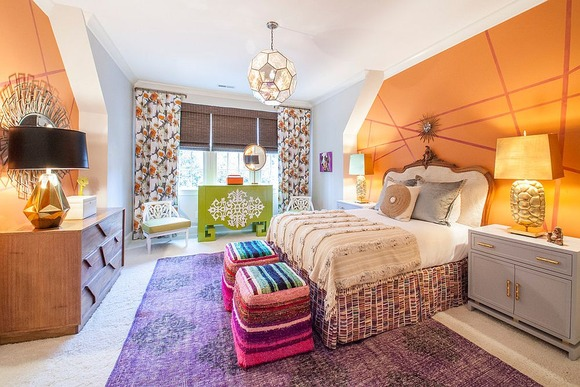 Bright Carpet in the Kids Room 11