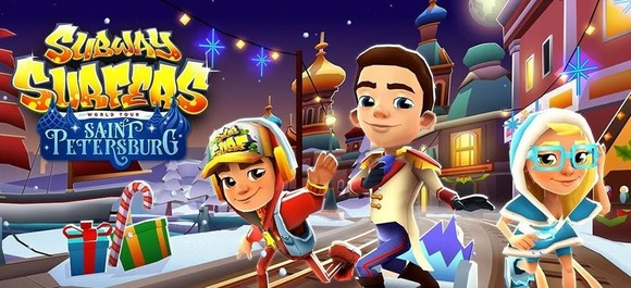 Subway Surfers Saint Petersburg