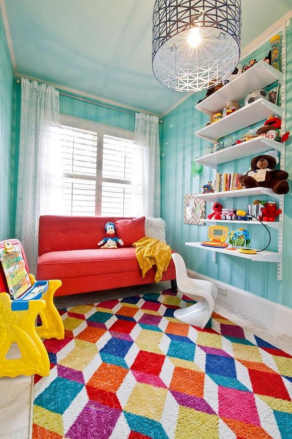 Bright Carpet in the Kids Room 5