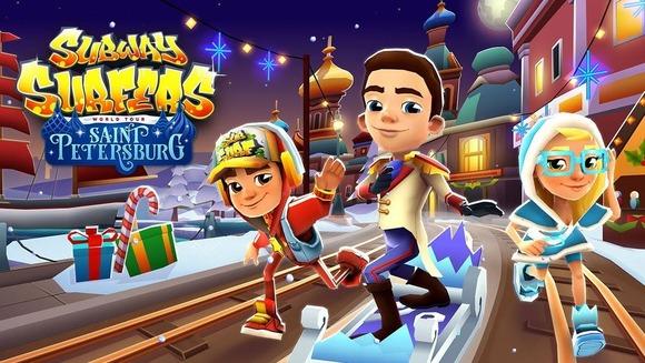 地下鉄サーファーズサンクトペテルブルクオンラインゲーム