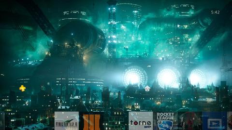 リマスター版『ファイナルファンタジー7』がPSストアにて配信開始!エアリスのテーマがBGMとして流れるミッドガルカスタムテーマが付属