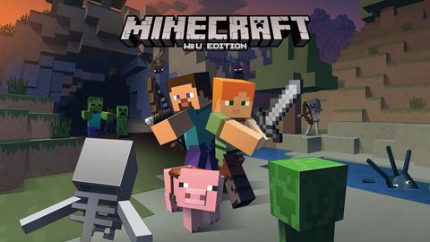 『Minecraft(マインクラフト)』WiiUエディションが発売決定!12月17日(木)よりニンテンドーeショップで販売開始