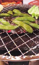 炭火焼枝豆