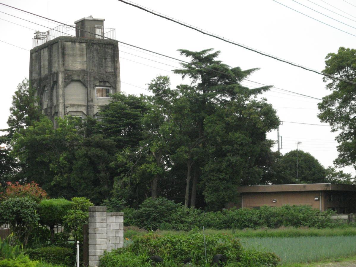 深谷市廃景:旧東京第二陸軍造兵...