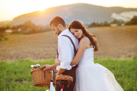 bigstock-Bride-and-groom-with-a-white-w-58183472