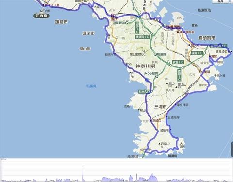 140315 三浦半島一周