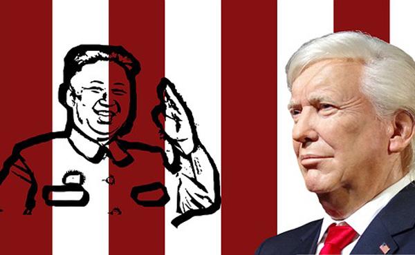 トランプ大統領 「リトルロケットマン」から一転、金正恩委員長は「オープンで、とても立派」と評価