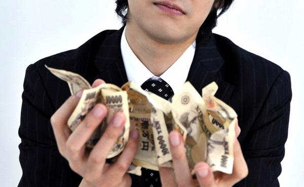 貯金しても生活は変わらなかった。金は使わないと・・・