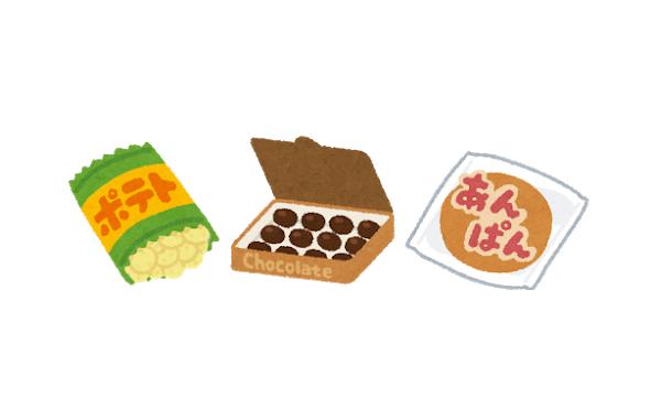 節約のためにお菓子と菓子パンで生活してるけど…
