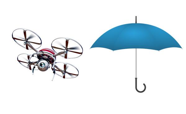〝手で持たないドローン日傘〟商用化へ、その価格がこちら…