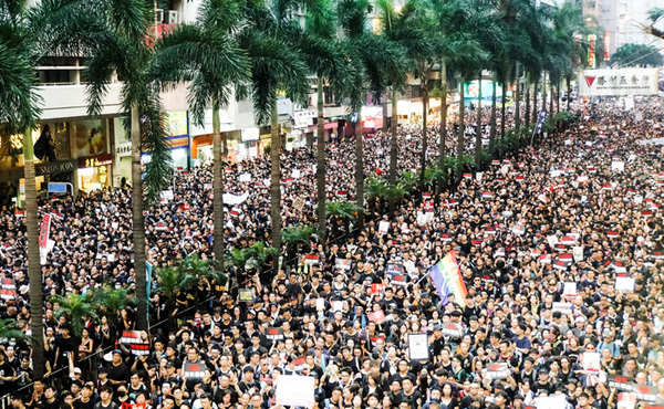 ワイジ 香港デモの理由を未だに理解してない