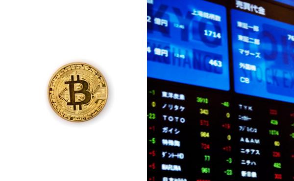 仮想通貨≧株 という考え方