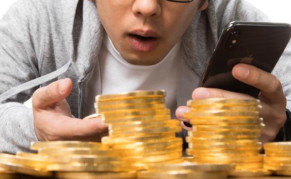 仮想通貨の億り人、国税庁の調査で1万人に1人しかいなかったと判明