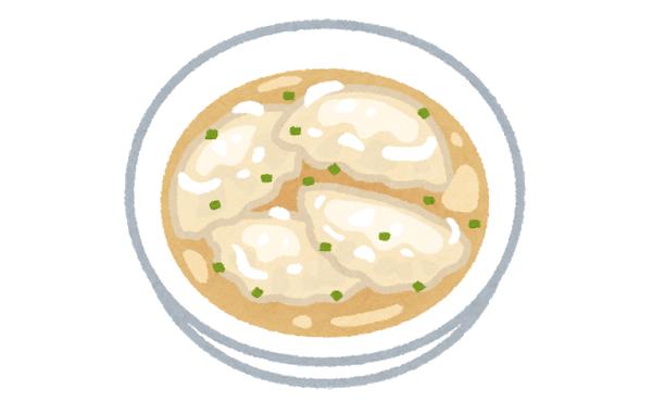 この炒飯と水餃子の定食に880円出せるか?