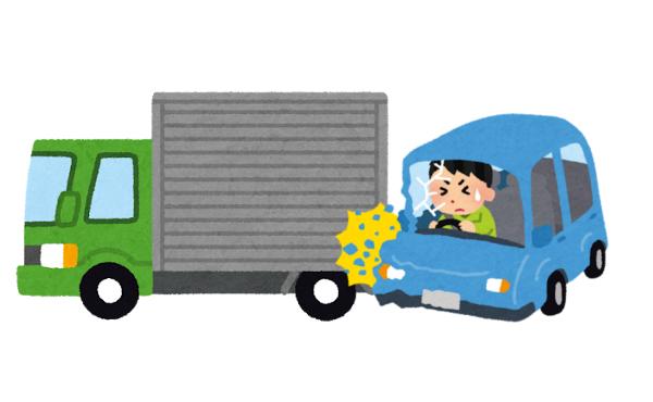運送業ワイ、トラック事故ってイララ