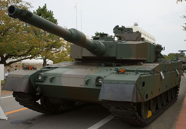 640px-Japanese_Type_90_Tank_-_1