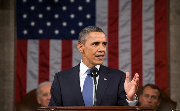 【米国】オバマ大統領「完全雇用で株価は2倍」 8年間の業績をアピールするも実質GDPはわずか1%しか成長してないことが明らかに