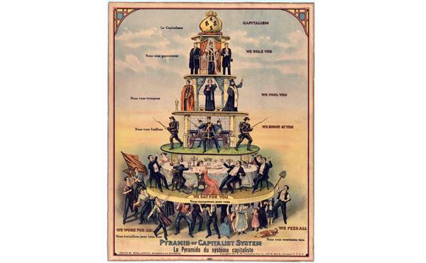【悲報】一枚の画像が資本主義社会の全てを描いていると話題