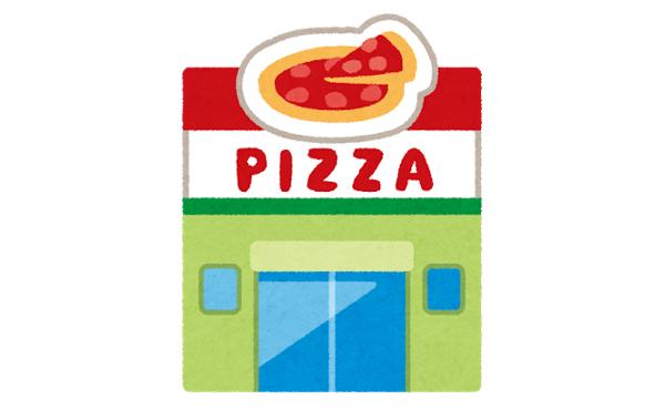 ピザ屋「持ち帰り20%オフ!!2枚目無料!!!!サービスでオードブルも付けちゃう!!」