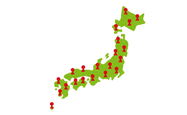 江戸時代の人口ランキングがこちら