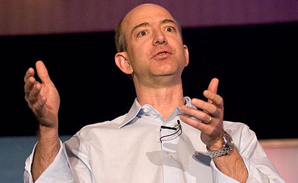 アマゾン・ベゾス氏世界一 資産14兆円超、2年連続