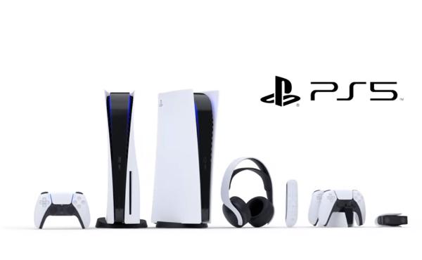 【朗報】PS5、ついに本体デザインを発表!ディスクあり版とディスクなし版の2種類あり