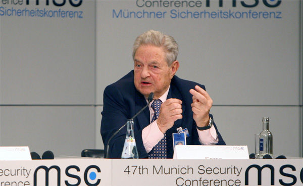 ジョージ・ソロス氏、米株の投資を大きく減らす 金関連の株式を購入