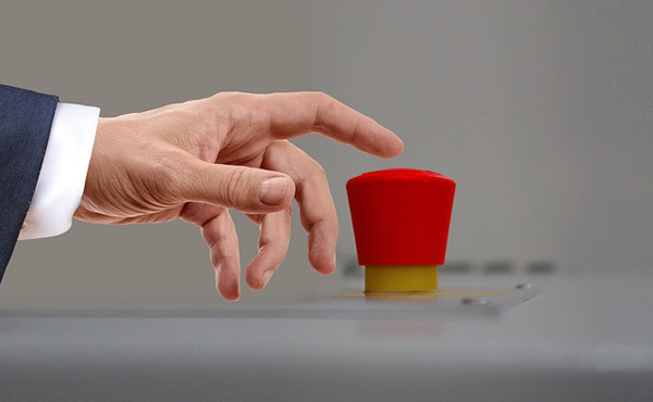 押すと職場が倒産する代わりに10億円手に入るボタン