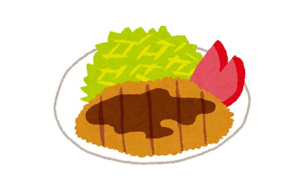 このとんかつ定食(1570円)にいくらまで出せる?
