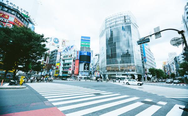 平日の渋谷・自称投資家をよく見かけるんだけど