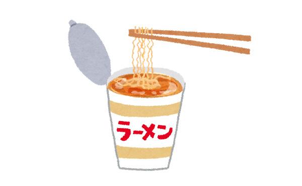 【悲報】 ワイ将250円のカップ麺を食べて怒られる