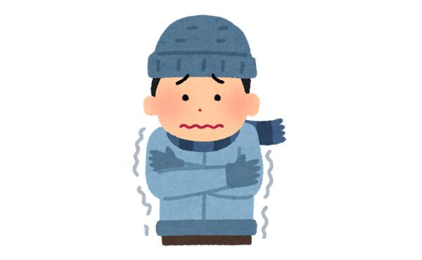 寒いときのお金をかけずに暖かくなる対処法