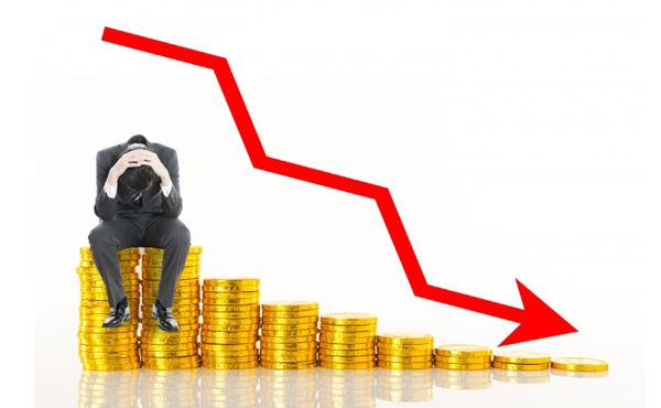 【悲報】俺初心者投資家、株価暴落でかすり傷を負うwwwww