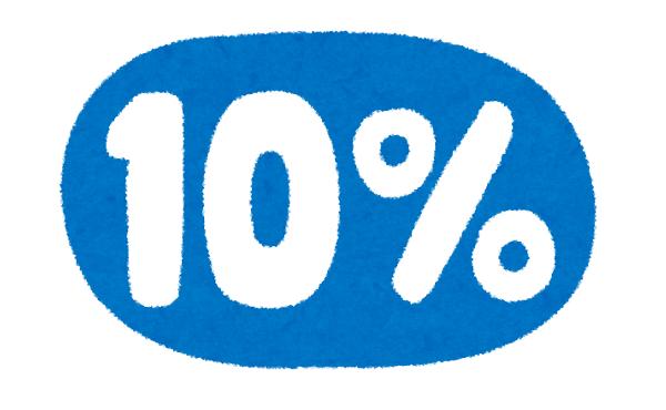 消費税率10%っておかしくね