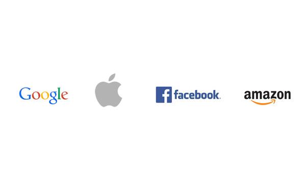 Google、Apple、Facebook、Amazonとかいう現実世界の四皇