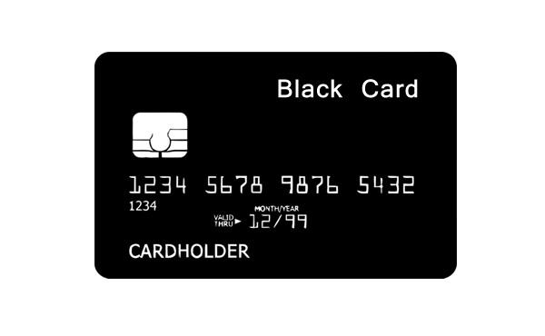 ブラックカード持ってるけど質問ある?