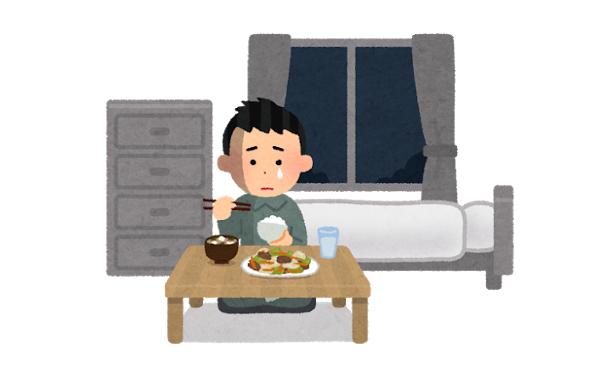 もう1ヶ月近く昼は280円のお弁当 夜は目玉焼きに焼き肉タレご飯の生活なんだが…