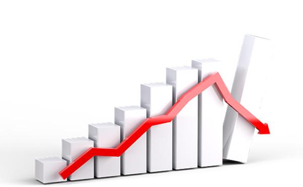【NY株価暴落】ダウポイント-1000以上下落 -3.84%