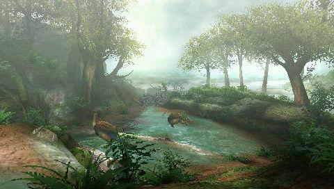 樹海と水没林が合わさったイメージ