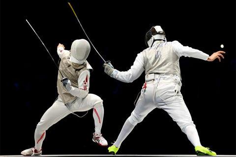 淡路選手 日本フェンシング