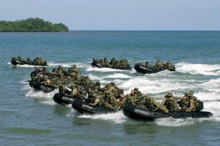 米フィリピン両軍合同演習